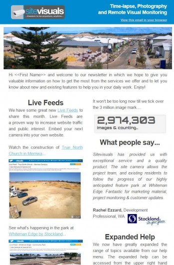 Latest newsletter now available...